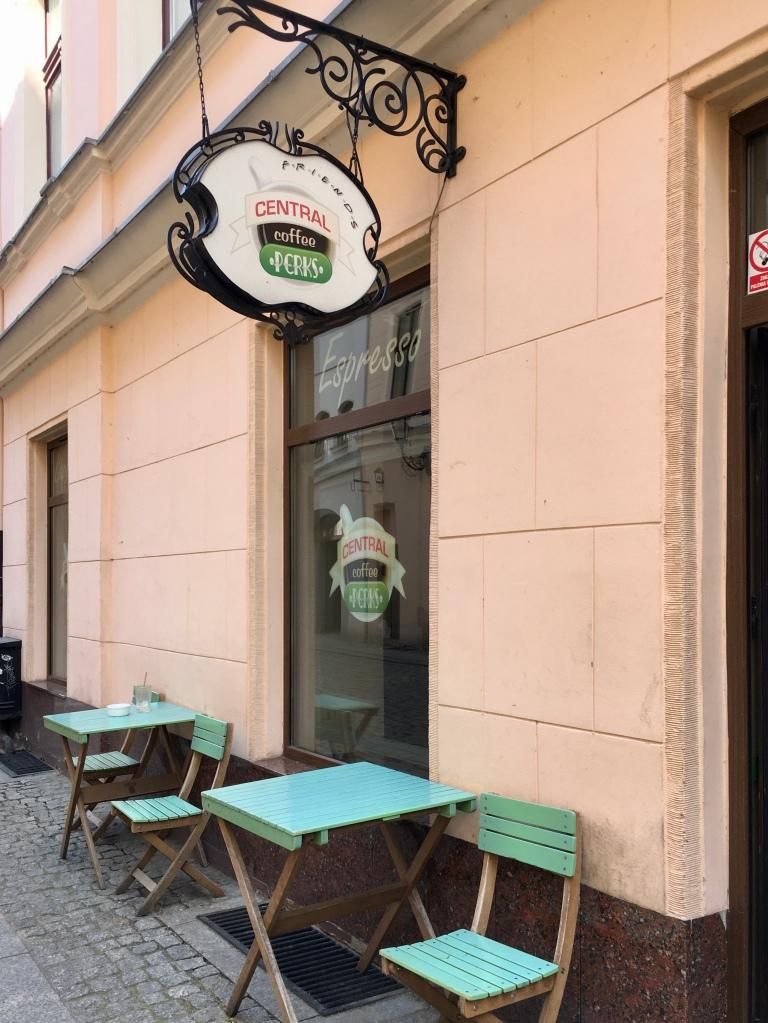 Central perk café in Torun